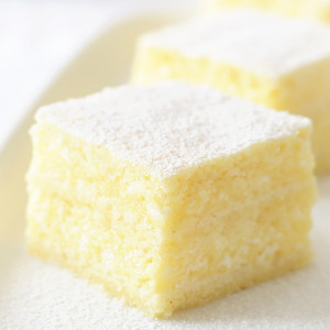 Custard Cream Pie Slices