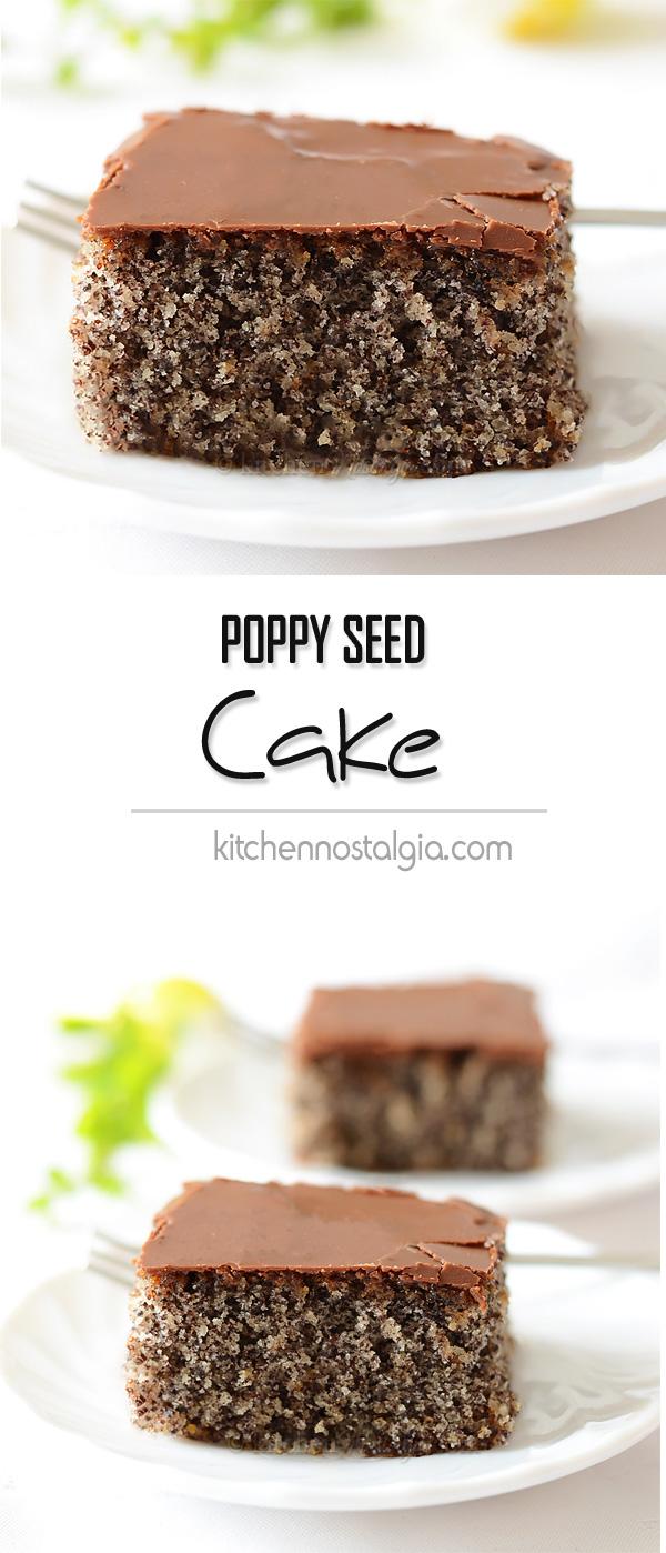 Poppy Seed Cake Kitchen Nostalgia