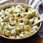 Cream Cheese Pesto Pasta