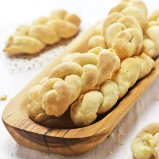 Braided Biscuits