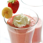 Strawberry Banana Greek Yogurt Smoothie