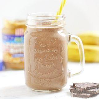 Peanut Butter Protein Shake Print Peanut Butter Protein Shake