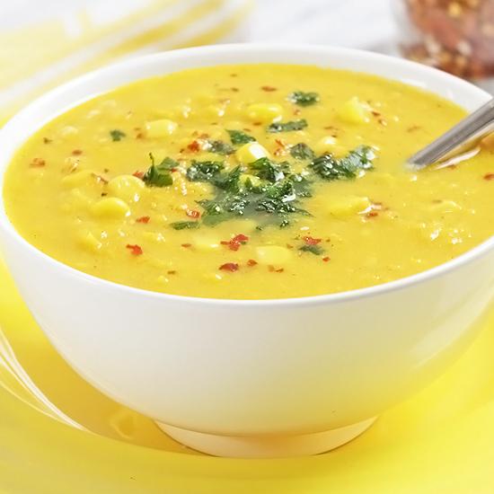 Corn and Sweet Potato Chowder