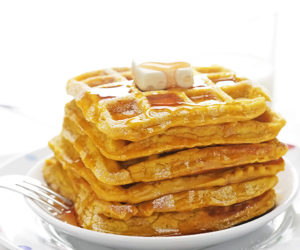Sweet Potato Waffles - dieTTaste