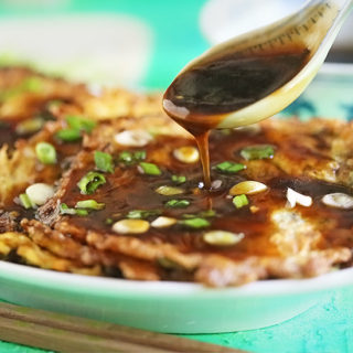 Beef Egg Foo Young with Gravy