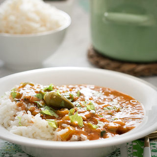 Okra Gumbo in Instant Pot
